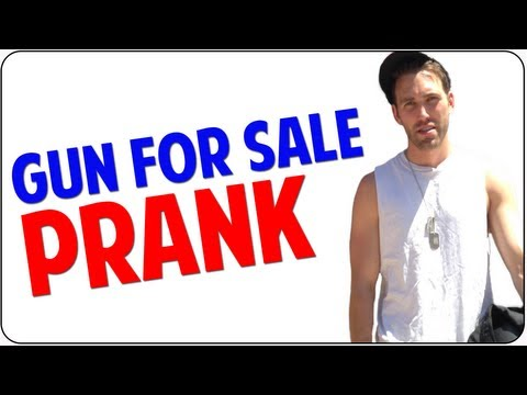 Gun For Sale | Bad Ads PRANK