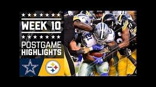 flushyoutube.com-#1 Cowboys vs. Steelers | NFL Week 10 Game Highlights