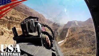 getlinkyoutube.com-F-15戦闘機・低空飛行で渓谷攻め コックピット映像 - F-15 Fighter Jet Low-level Canyon Flying Cockpit View