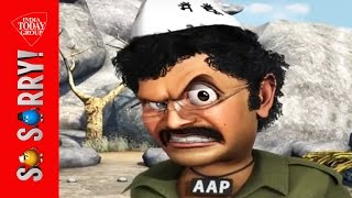 getlinkyoutube.com-So Sorry : Watch Kejriwal as Gabbar Singh in 'AAP Ke Sholay'