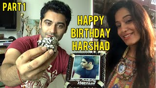 getlinkyoutube.com-Harshad Arora Birthday Celebration | Preetika Rao Selfie Birthday Message