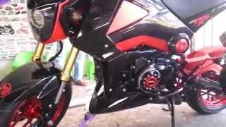 getlinkyoutube.com-Honda MSX (Grom) 125 New Custom Modification Cambodia