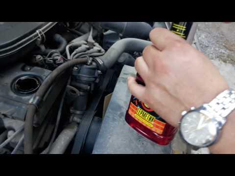 Применение герметика масляной системы мотора