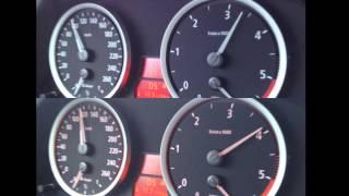 getlinkyoutube.com-BMW E60 525D vs. E60 525D Chip Racechip 0-100Km/h Einbau Test Erfahrung Vorher Nachher