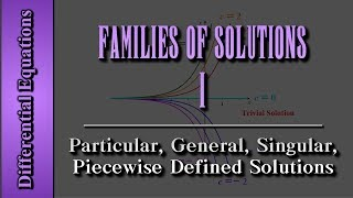 getlinkyoutube.com-Differential Equations: Families of Solutions (Level 1 of 4) | Particular, General, Singular, Piece