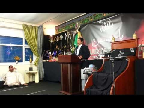 Al Murtaza Trust, Zakir Syed Nadeem Shah reciting on 3/4 Shabaan 2013 Part 2 of 2