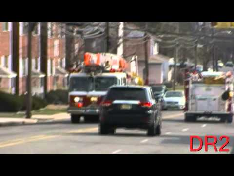 Belleville Fire Department Truck 1 Responding 4-14-14