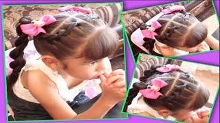 getlinkyoutube.com-Peinado Recogido Para Niña | Peinado Para Ir A La Escuela
