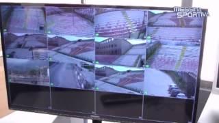 Installato il nuovo impianto di videosorveglianza al San Filippo. Software di ultima generazione