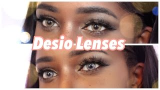 getlinkyoutube.com-Desio Lenses: Caramel Brown & Creamy Beige
