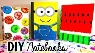 getlinkyoutube.com-DIY NOTEBOOKS for Back to School   DIY School Supplies EASY