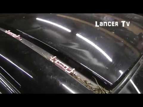 Как снять молдинги с крыши Lancer X