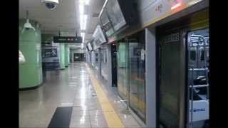 2012년 10월 5일 잘 가거라 분당선 선릉역 착발 편성