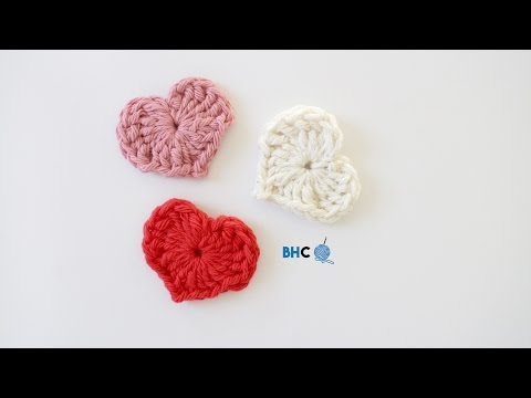 How to Crochet a Heart using Magic Ring: Beginner Friendly Tutorial