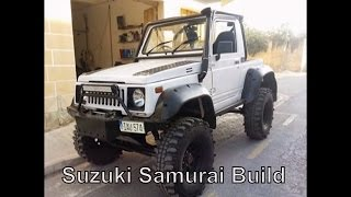 getlinkyoutube.com-4x4 - Project 2 - Suzuki Samurai Build