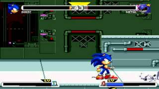 getlinkyoutube.com-Sonic Freedom Fighters MUGEN 720P HD Playthrough with Sonic