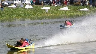 getlinkyoutube.com-Power Boat Hydroplane Racing Longtails in Thailand