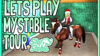 getlinkyoutube.com-Star Stable Let's Play - New My Stable Tour - #1