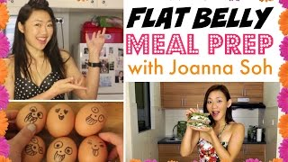♥ FULL 3 DAY FLAT BELLY MEAL PREP (collaboration with Joanna Soh) ♥ @BakingMadGymAddict ♥