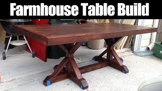 getlinkyoutube.com-Farmhouse Table Build (CMRW#36)