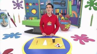 getlinkyoutube.com-Disney Junior - Art Attack : La Poule Féroce  - En Français