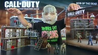 getlinkyoutube.com-ZOMBIES of Alcatraz Prison - CALL OF DUTY Mob of the Dead | Mega Bloks Toy Building Set