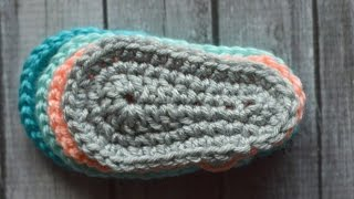 Crochet Bootie Sole