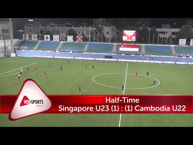 Singapore U23 vs Cambodia