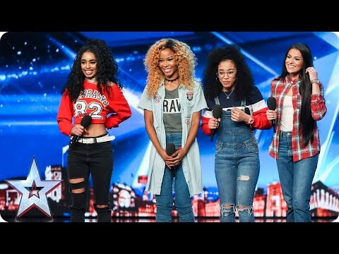 The Miss Treats deliver a mighty good audition | Auditions Week 3 | Britain's Got Talent 2017
