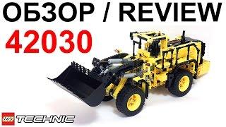 getlinkyoutube.com-Лего Техник 42030 Погрузчик Вольво – Обзор / Lego Technic Volvo L350F Wheel Loader – Review