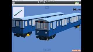 getlinkyoutube.com-LEGO Digital Designer - Hungarian M3 Metro (Russian)