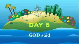 getlinkyoutube.com-Bible Story Series: Genesis The Creation of World