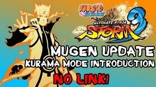 getlinkyoutube.com-Naruto Shippuden: Ultimate MUGEN Storm 3 - Naruto (Kurama Mode) Preview