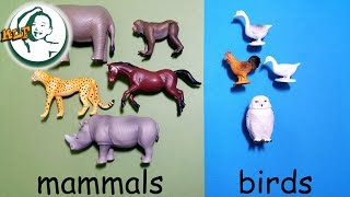getlinkyoutube.com-Learn animal classification and animal sounds for kids with Tomy Ania Animal part 2 |アニア アニマルだ