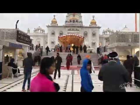 Bangla Sahib Gurdwara (Morning Asa Di Vaar Timelapse)