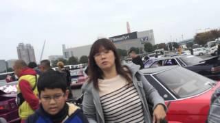 getlinkyoutube.com-お台場旧車天国2015 駐車場 爆音!コール!竹やり ケンメリ GX71
