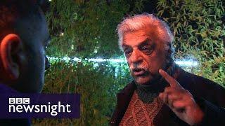 """getlinkyoutube.com-""""A war was begun, in England, against Jeremy Corbyn,"""" says Tariq Ali - Newsnight"""