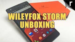 Wileyfox Storm Unboxing and first look hands-on impressions