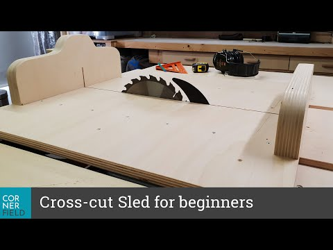 Making a Crosscut Sled for the DWE7491 Youtube Thumbnail