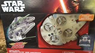 getlinkyoutube.com-Star Wars Millennium Falcon Quadcopter Unboxing and Review