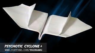 getlinkyoutube.com-Papierflieger selbst basteln. Papierflugzeug falten - Beste Origami Flugzeug  Boomerang |