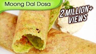 getlinkyoutube.com-Moong Dal Dosa | Easy To Make Dosa Recipe | Popular South Indian Breakfast Recipe By Ruchi Bharani