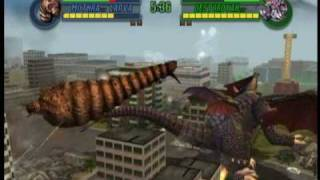 getlinkyoutube.com-Godzilla: Save the Earth - Mothra vs Destoroyah (Match 1)