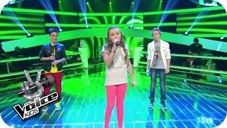 getlinkyoutube.com-BOY - Little Numbers (Leif, Vanessa, Joel) | The Voice Kids 2014 | BATTLE | SAT.1