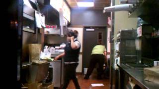getlinkyoutube.com-Ghetto people Fight at Jack in the Box In San Diego