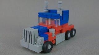 getlinkyoutube.com-(INSTRUCTIONS) - Lego Transformers Movie Optimus Prime
