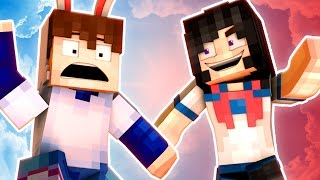 getlinkyoutube.com-YANDERE MURDER MODE! - WE DIE TOGETHER! | 🐰 Minecraft Roleplay