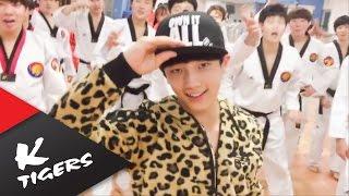 getlinkyoutube.com-GD x Taeyang [Good boy] Taekwondo ver.
