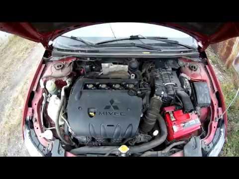 Mitsubishi Lancer X не заводится,что делать?