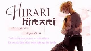 getlinkyoutube.com-[VietSub] Hirari Hirari- Rin Len Kagamine ( Vocaloid cover )